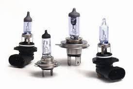 Галогеновые лампы основного света