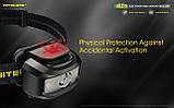 Налобный фонарь с универсальным питанием NITECORE NU35 (460LM / 10 режимов / 590 mAh+3*AAA / USB Type-С), фото 5