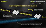 Налобный фонарь с универсальным питанием NITECORE NU35 (460LM / 10 режимов / 590 mAh+3*AAA / USB Type-С), фото 6