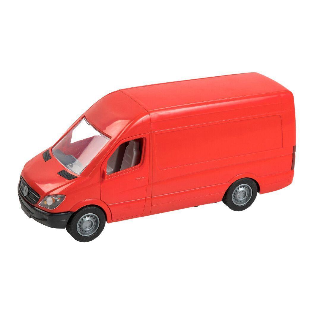 """Машина """"Mercedes-Benz: Sprinter грузовой"""", красный 39652"""