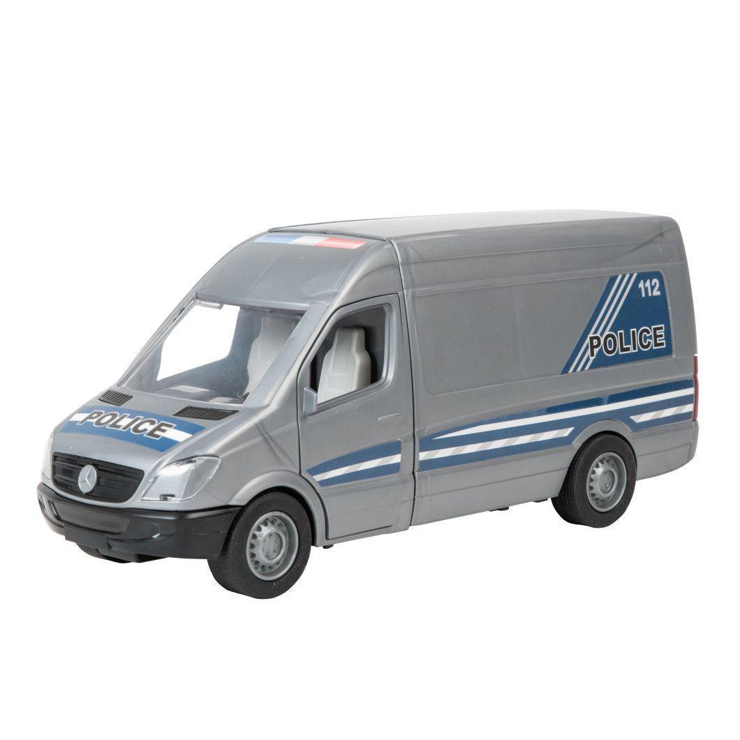 """Машина """"Mercedes-Benz: Sprinter полицейская"""", серый 39665"""