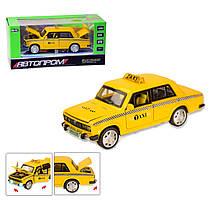 """Машинка """"ВАЗ 2106 Такси"""" из серии """"Автопром"""" 7643"""