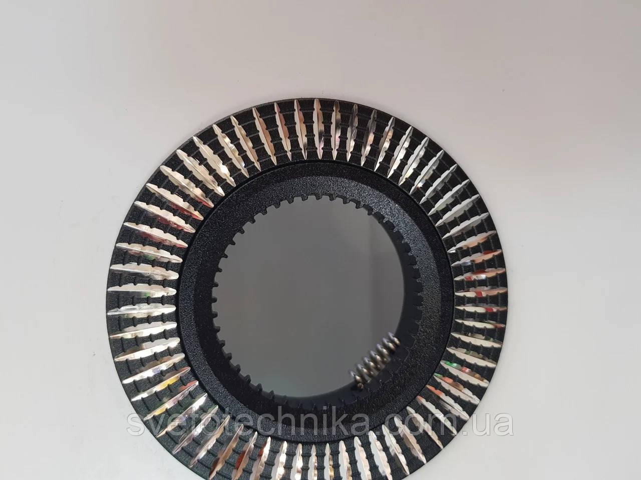 Светильник Feron GS-M369 (цвет корпуса черный) встраиваемый неповоротный