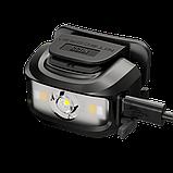 Налобный фонарь с универсальным питанием NITECORE NU35 (460LM / 10 режимов / 590 mAh+3*AAA / USB Type-С), фото 8
