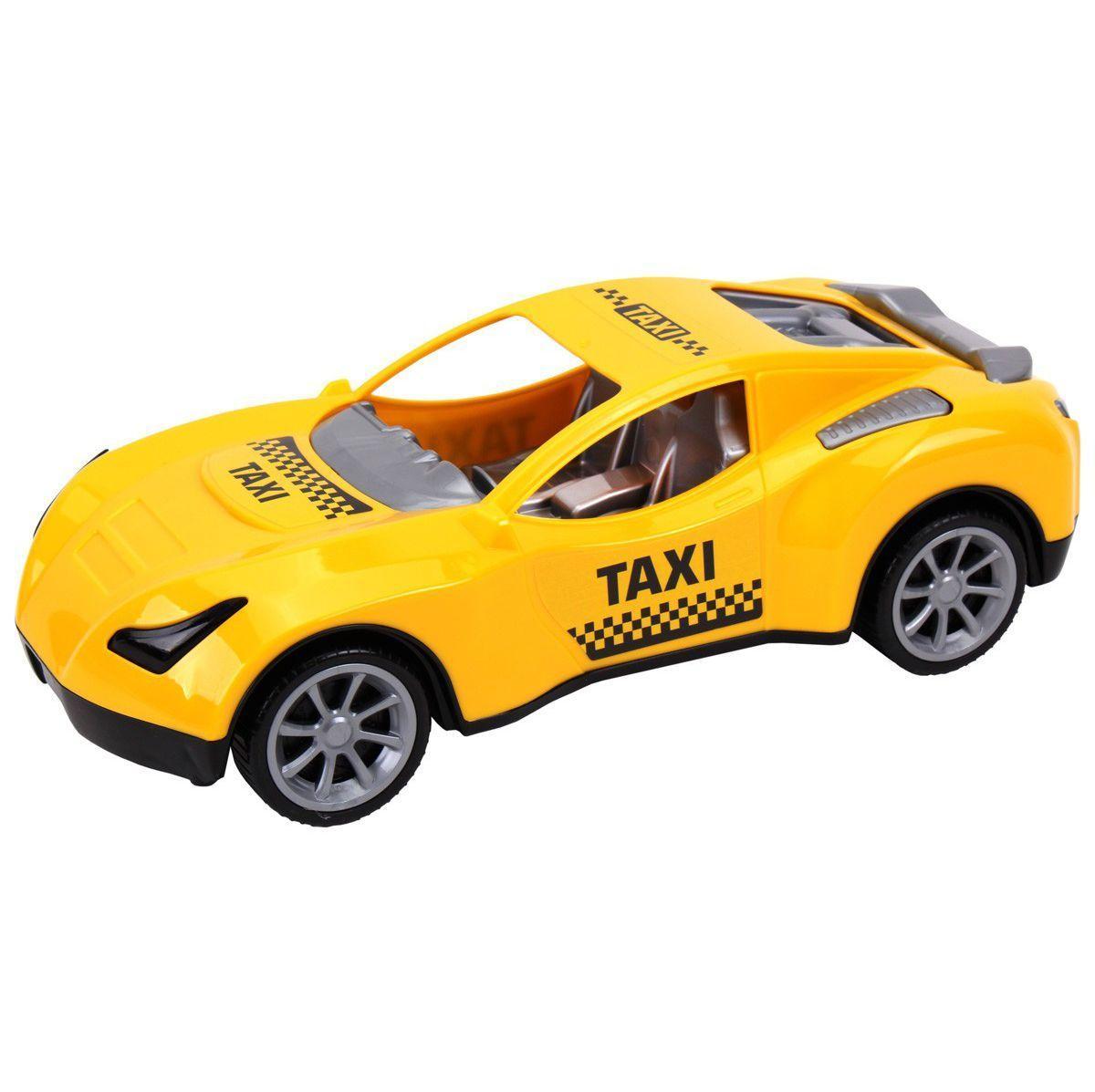 Автомобиль, желтый 7495