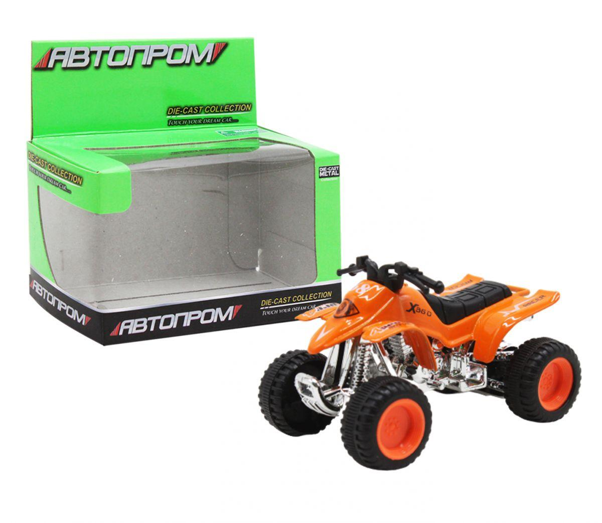 Квадроцикл, оранжевый 7833