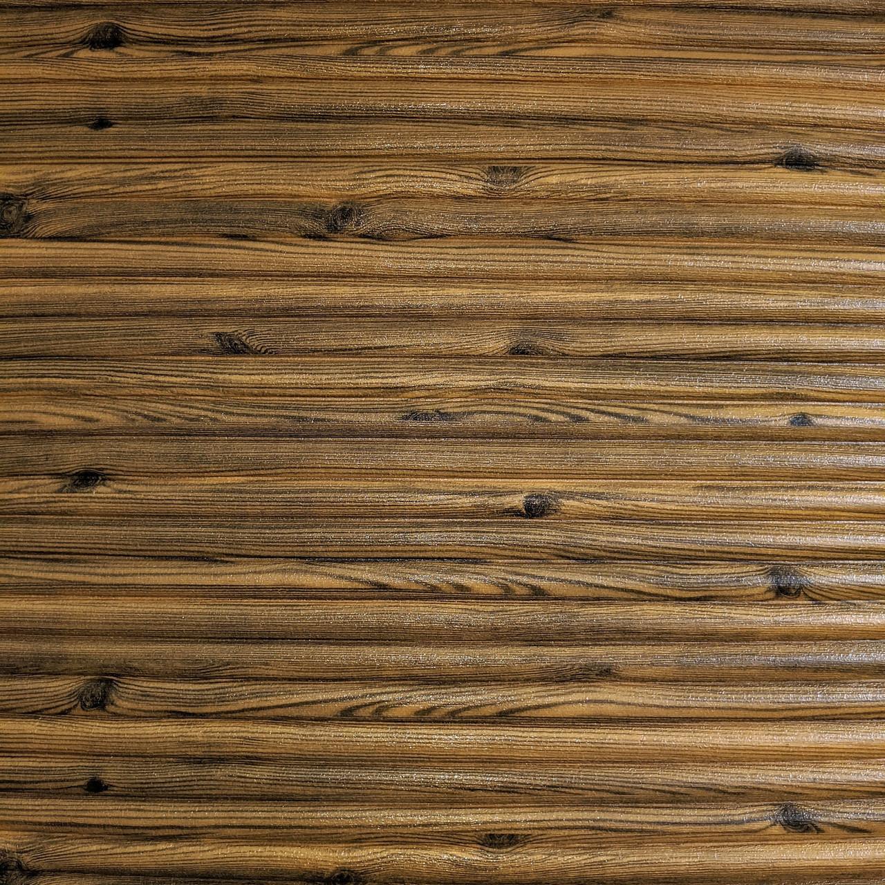 Самоклеющаяся декоративная 3D панель бамбук дерево 700x700x8.5мм