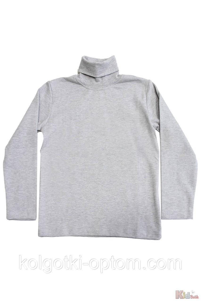 ОПТОМ Гольф серого цвета базовый для ребенка (110 см.)  Lovetti 2125000683928