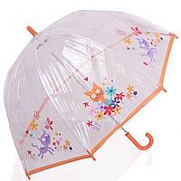 Зонт-трость механический детский облегченный ZEST z51510-15