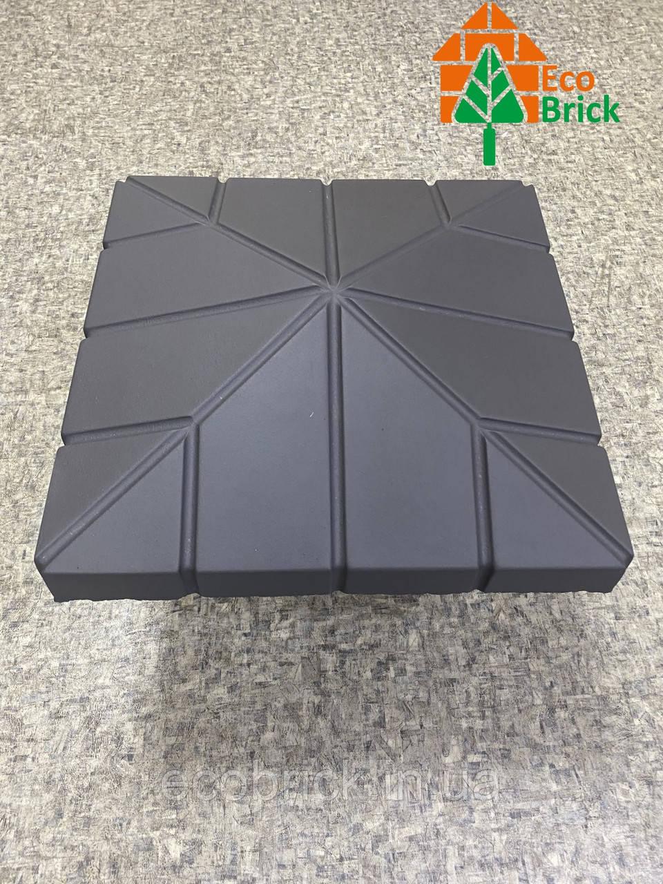 Крышки для забора Руст. Размер, мм – 450х450 мм