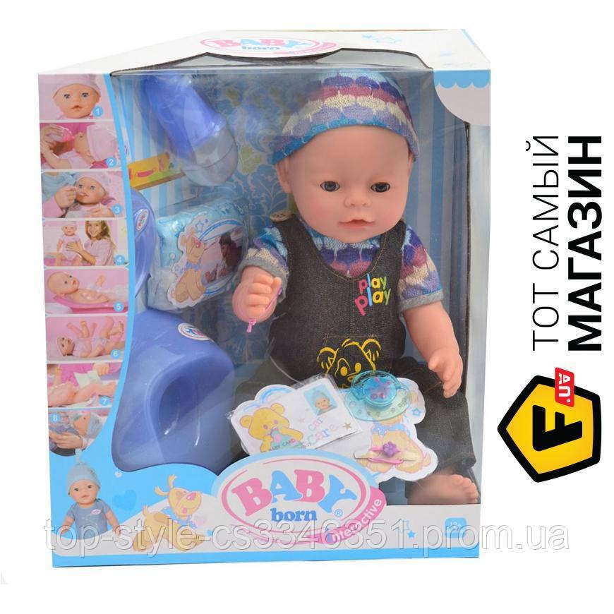 Игрушечный пупс baby born (8 функций) BL013B-S