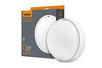 LED светильник IP65 круглый VIDEX 9W 5000K белый, фото 1