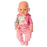 Детский игрушечный пупс baby born (9 функций) 8006-456, фото 2