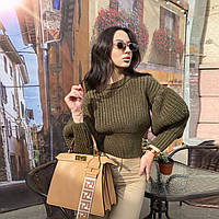 Женский вязанный свитер. Модель 8764, фото 8