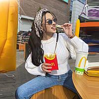 Женский вязанный свитер. Модель 8764, фото 5