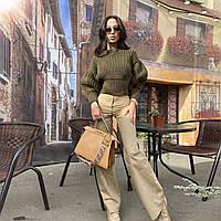 Женский вязанный свитер. Модель 8764, фото 10