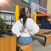 Женский вязанный свитер. Модель 8764, фото 6