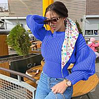 Женский вязанный свитер. Модель 8764, фото 7