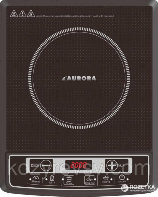 Индукционная плита Aurora AU 4472 (2 квт.), доставка из Харькова, оптом и в розницу.