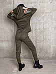 Женский спортивный ангоровый костюм (Батал), фото 5