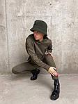 Женский спортивный ангоровый костюм (Батал), фото 7