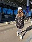 Женская куртка с сумкой, фото 3