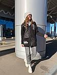 Женская кофта со стежкой (Батал), фото 3