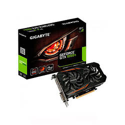 Відеокарта Gigabyte GeForce GTX 1050 Ti OC 4G (GV-N105TOC-4GD)