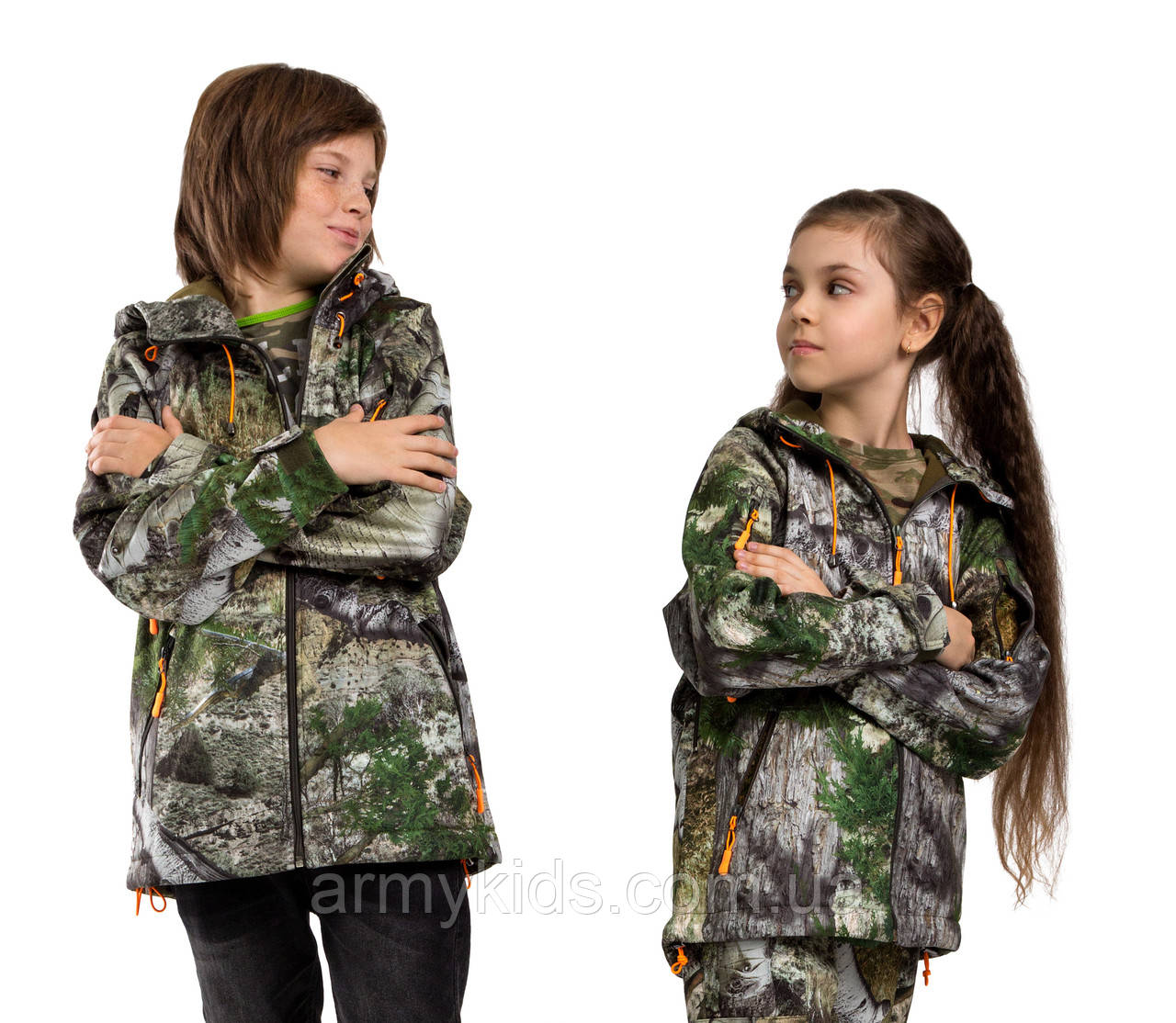 Куртка детская камуфляжная теплая Шторм StormWall PRO Sequoia