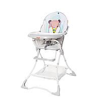 Детский стульчик для кормления TILLY Buddy T-633/2 Azure Bear Бирюзовый Мишка