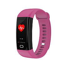 Умный фитнес браслет Lemfo F07 Health с измерением температуры (Фиолетовый), фото 3