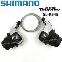 Ревошифт Shimano Tourney SL-RS45-6 RevoShift, 3x6 скоростей, индекс SIS, фото 1
