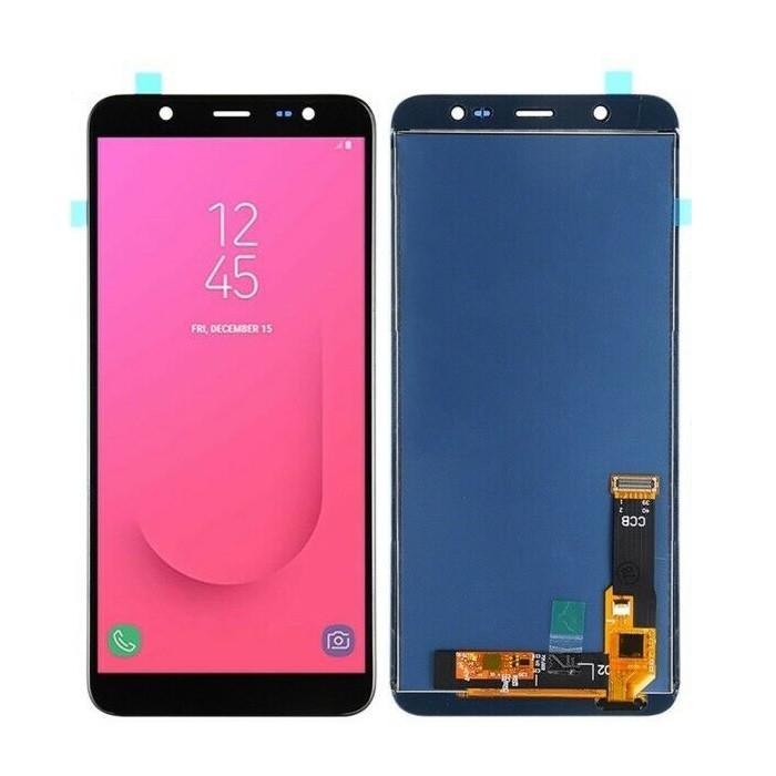 Дисплей (LCD) Samsung J810 Galaxy J8 (2018) OLED с тачскринм, чёрный