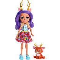 Кукла  Энчантималс Оленица Дениса,  Enchantimals, Mattel