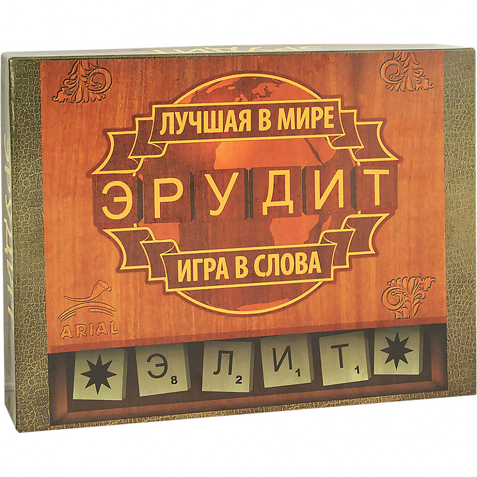 Настольная игра Arial Эрудит-Элит (рос.) 910190