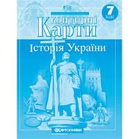 Контурна карта Історія України 7 клас Картографія