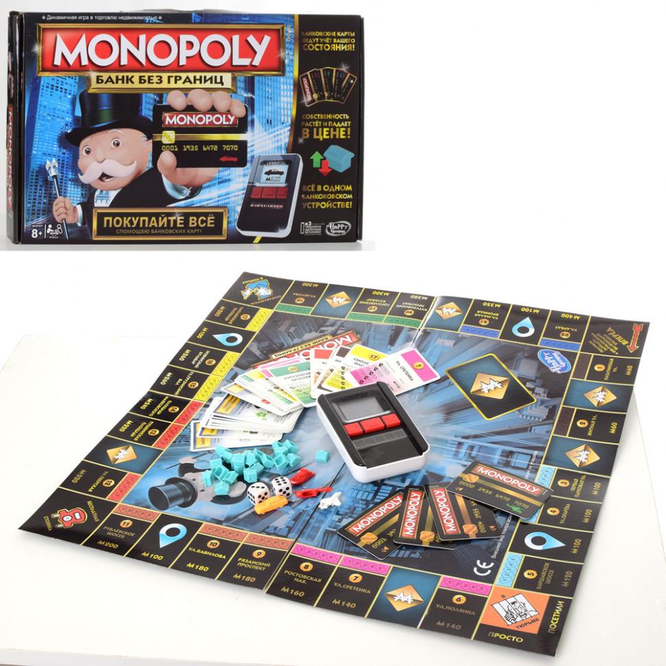 Настольная игра Монополия 4007