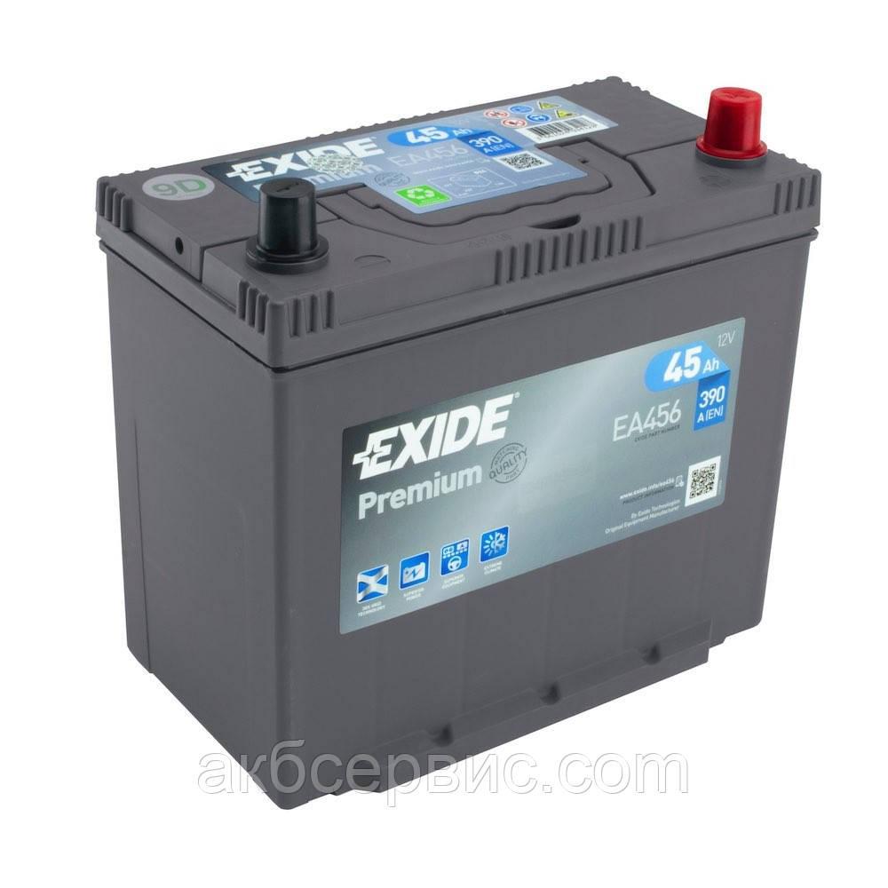 Аккумулятор автомобильный Exide EA456