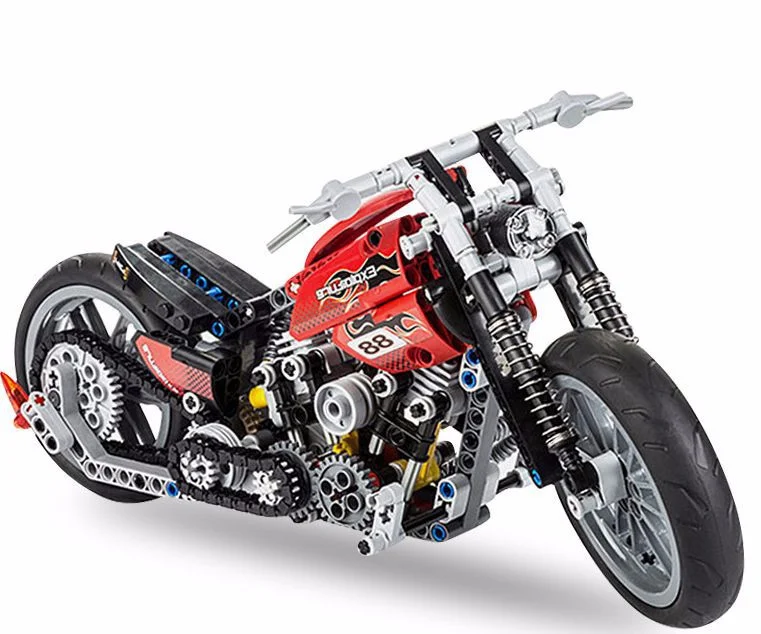 Конструктор Мотобайк JiSi bricks 3354 мотоцикл 374 детали