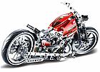 Конструктор Мотобайк JiSi bricks 3354 мотоцикл 374 детали, фото 2
