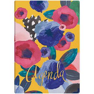 ЕЖЕДНЕВНИК НЕДАТИРОВАННЫЙ BRUNNEN АГЕНДА FLEX FLOWERS, фото 2