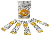 Мед в стиках (25 шт в упаковках)