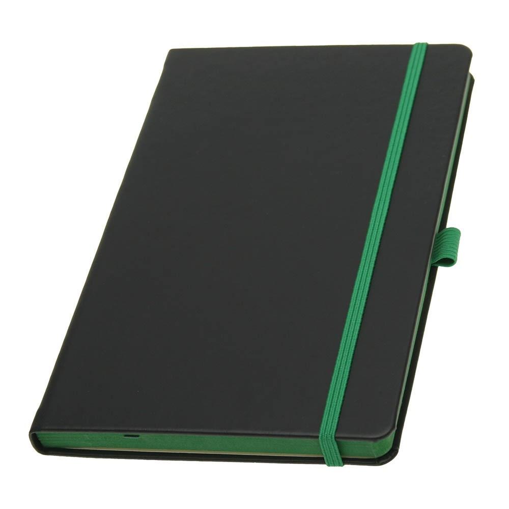 Записная книжка TUKSON COLOR, А5, кремовый блок в линию. Пр-во Италия. 4 цвета.
