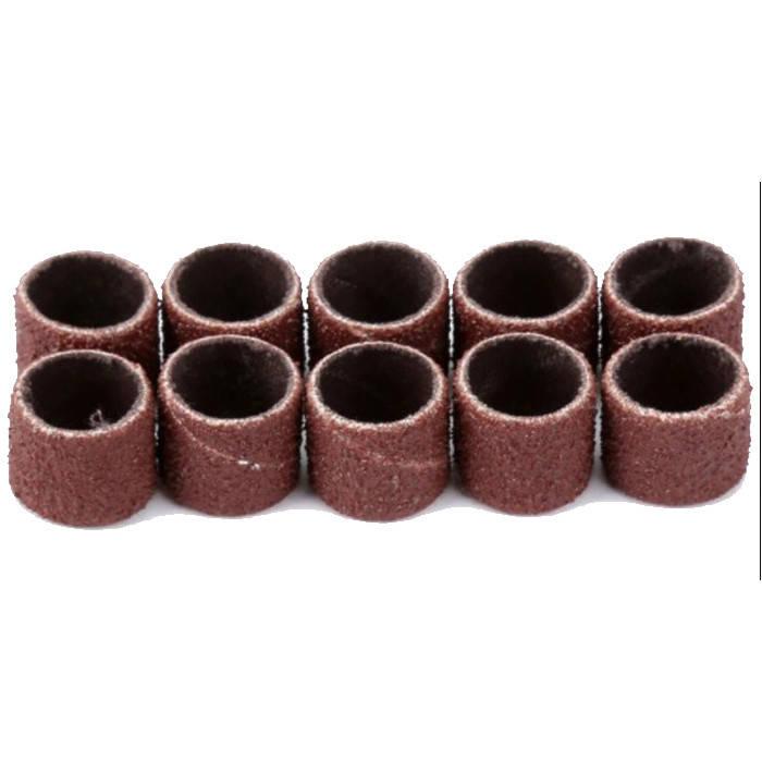 Наждачные цилиндры Ø 12 мм. #100 10 шт. YDS Tools, фото 2