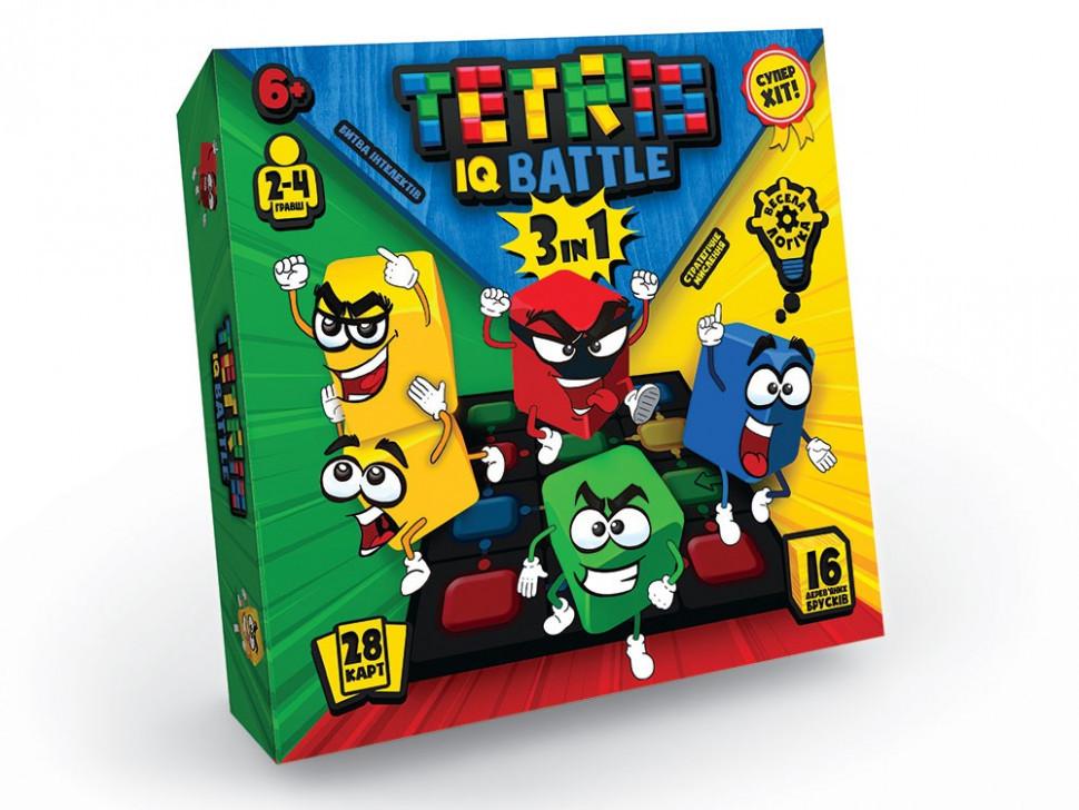 """Развлекательная игра """"Tetris IQ battle 3in1"""" укр. G-TIB-02U"""