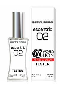 Тестер Premium Class Escentric Molecules Escentric 02 унисекс, 60 мл