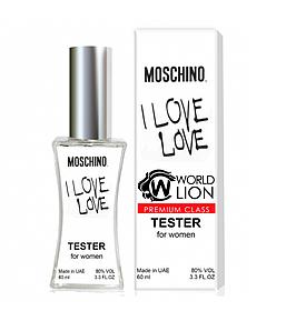 Тестер Premium Class Moschino I Love Love женский, 60 мл