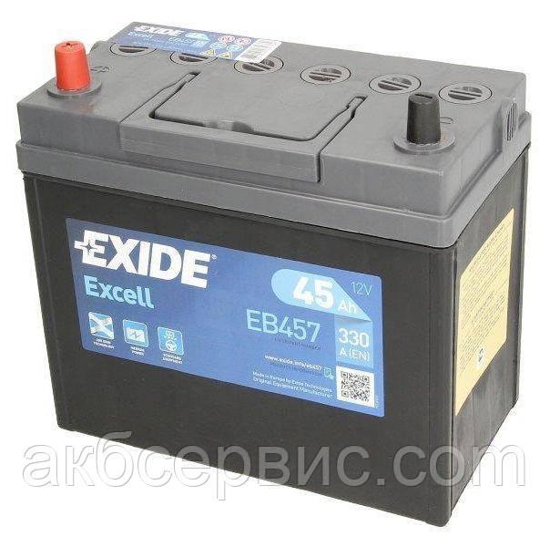 Аккумулятор автомобильный Exide EB457