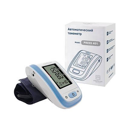 Автоматический тонометр MEDICA+ Press 401 с манжетой BL (Япония), фото 2