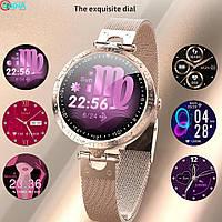 Смарт годинник Фітнес браслет AK22 жіночі з вимірюванням тиску і пульсу